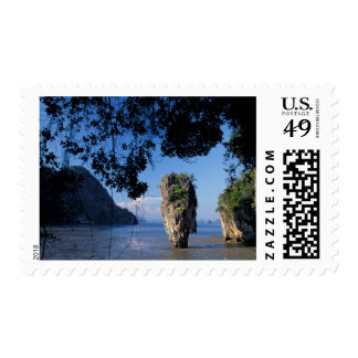 Asia, Thailand, Ao Phangnga NP, coatline, Karst Postage