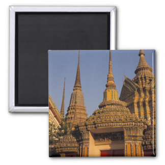 Asia, Thailand, Bangkok, Wat Po, city's oldest 2 Inch Square Magnet