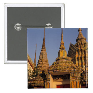 Asia, Thailand, Bangkok, Wat Po, city's oldest Button