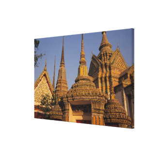 Asia, Thailand, Bangkok, Wat Po, city's oldest Canvas Print