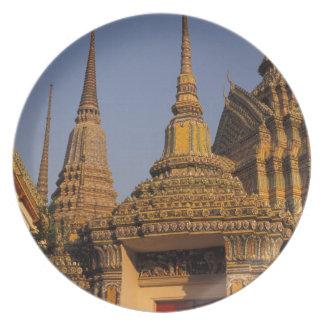 Asia, Thailand, Bangkok, Wat Po, city's oldest Plate