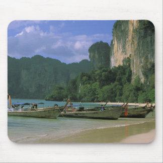 Asia, Thailand, Krabi. West Railay Beach, Mouse Pad