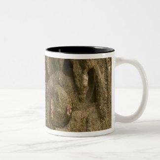 Asia, Thailand, Mae Hong Son, Buddha Images Two-Tone Coffee Mug