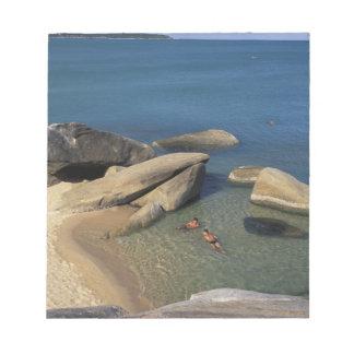 Asia, Thailand, Samui. Beach Notepad