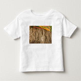 Asia, Thailand, Siam, Buddha in tree ruts at Tee Shirts