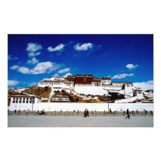 Asia, Tíbet, Lasa, el palacio Potala. UNECSO Fotografía