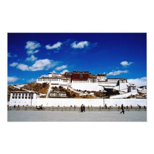 Asia, Tíbet, Lasa, el palacio Potala. UNECSO Impresiones Fotograficas