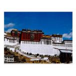 Asia, Tíbet, Lasa, rojo 2 del palacio Potala aka Postales
