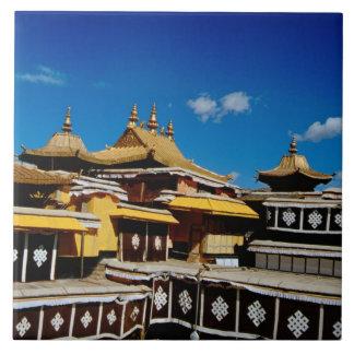 Asia, Tíbet, Lasa, rojo del palacio Potala aka Azulejo Cuadrado Grande