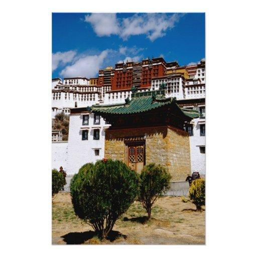 Asia, Tíbet, Lasa, rojo del palacio Potala aka Impresiones Fotográficas