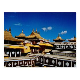 Asia, Tíbet, Lasa, rojo del palacio Potala aka Tarjeta Postal