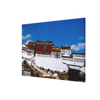 Asia, Tibet, Lhasa, Potala Palace aka Red 2 Gallery Wrap Canvas