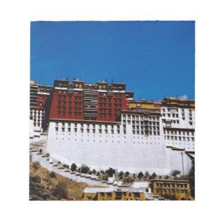 Asia, Tibet, Lhasa, Potala Palace aka Red 2 Note Pad