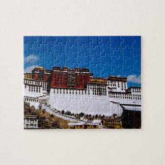 Asia, Tibet, Lhasa, Potala Palace aka Red 2 Puzzle