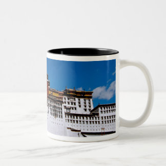 Asia, Tibet, Lhasa, Potala Palace aka Red 2 Two-Tone Coffee Mug