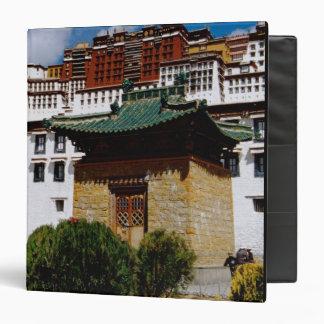 Asia, Tibet, Lhasa, Potala Palace aka Red 3 Ring Binder
