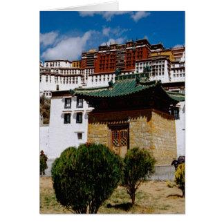Asia, Tibet, Lhasa, Potala Palace aka Red Card