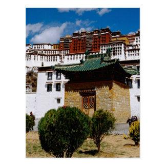 Asia, Tibet, Lhasa, Potala Palace aka Red Postcard