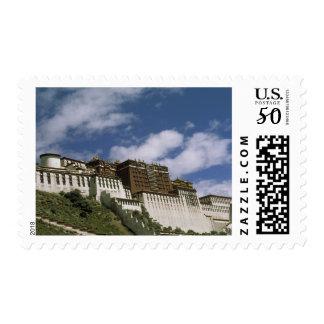 Asia, Tibet, Lhasa. Potala Palace. Postage