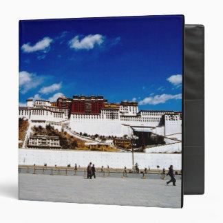 Asia, Tibet, Lhasa, Potala Palace. UNECSO Vinyl Binder