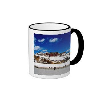 Asia, Tibet, Lhasa, Potala Palace. UNECSO Ringer Mug