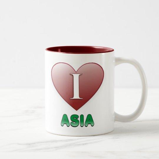 Asia Two-Tone Coffee Mug