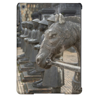 Asia, Vietnam. Figurines and horse statues iPad Air Cover