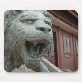 Asia, Vietnam. Lion sculpture at Chau Doc Mouse Pad