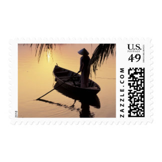 Asia, Vietnam, Mekong Delta, Can Tho. Evening Postage