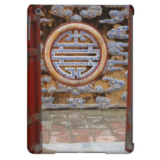 Asia, Vietnam. Ornate wall at the Citadel iPad Air Case