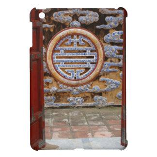 Asia, Vietnam. Ornate wall at the Citadel iPad Mini Cases