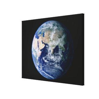 Asia vista de espacio impresión de lienzo