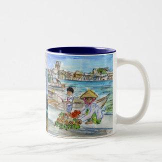 Asia Water Market Mug