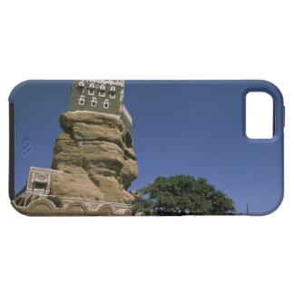 Asia, Yemen, lecho de un río seco Dhar. Palacio de iPhone 5 Carcasas