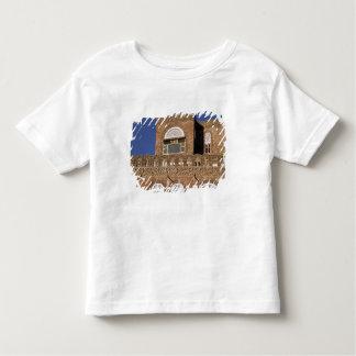 Asia, Yemen, Sana'a. Yemeni architecture detail. Toddler T-shirt