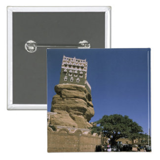 Asia, Yemen, Wadi Dhar. Rock Palace, or Dar Al Button
