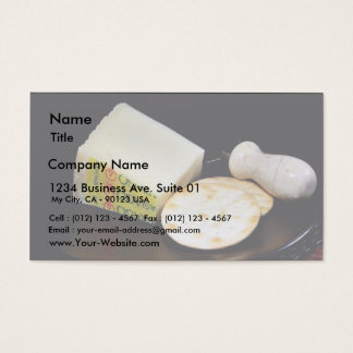 Asiago Pressato Cheese Business Card