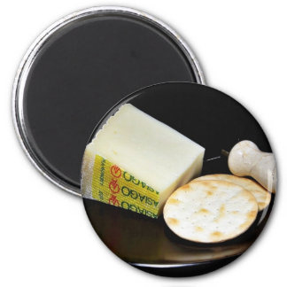 Asiago Pressato Cheese Magnet