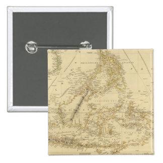 AsiaIndonesia suroriental Pin Cuadrado