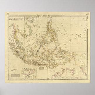 AsiaIndonesia suroriental Póster