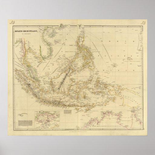 AsiaIndonesia suroriental Poster
