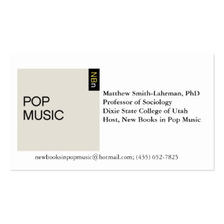 Asian Am Studies Card Double-Sided Standard Business Cards (Pack Of 100)