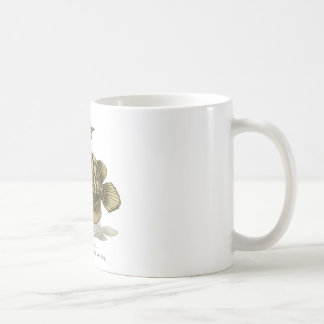 Asian arowana - plain coffee mug