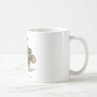 Asian arowana - plain coffee mugs