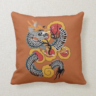 Asian Art Dragon Throw Pillows