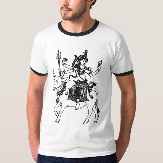 ASIAN ART GOD ON WATER BUFFALO T-Shirt