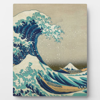 Asian Art - The Great Wave off Kanagawa Plaque