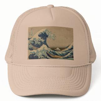 Asian Art - The Great Wave off Kanagawa Trucker Hat