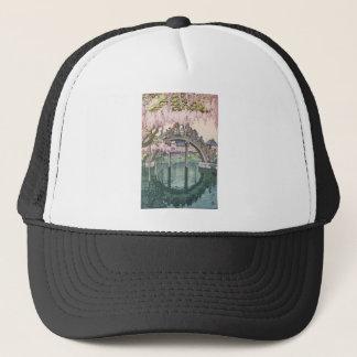 Asian Art Vintage Oriental Classic Masterpiece Trucker Hat