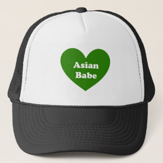 Asian Babe Trucker Hat